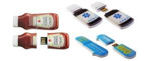USB sticks SHAPE. Også i små oplag.