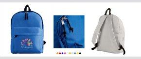 Enkel rygsæk leveres i mange farver
