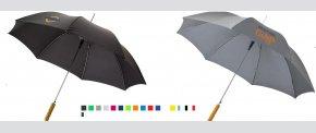Paraply i mange forskellige farver