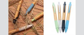 ØKO. Fremstillet af bambus og hvedestrå