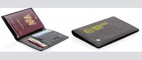 RFID anti skimmings pasholder