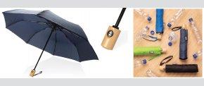 Automatisk åben/lukke RPET paraply