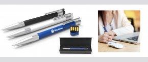 USB kuglepen med stor kapacitet.
